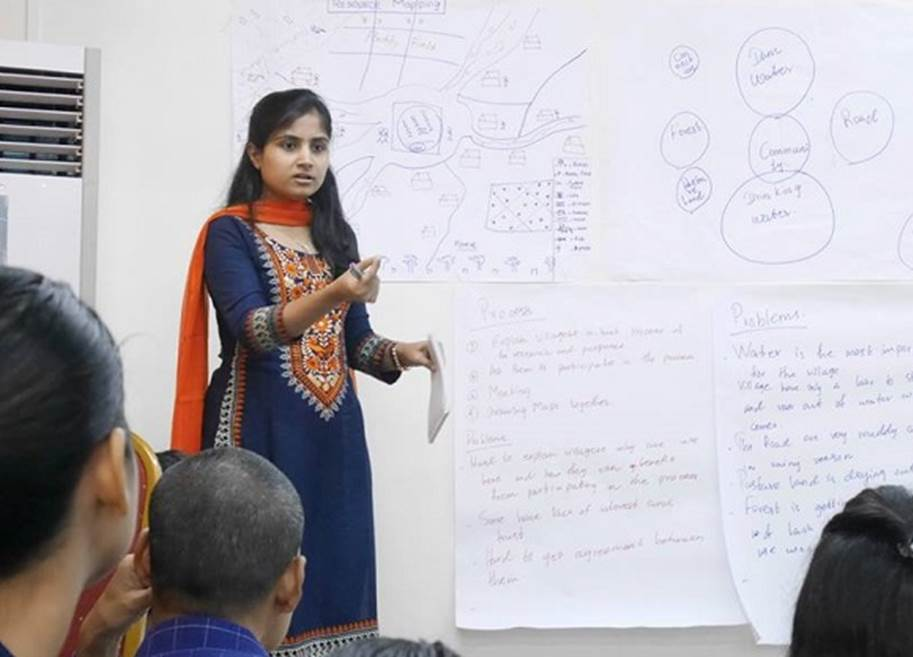 PRIA research teaching workshop India