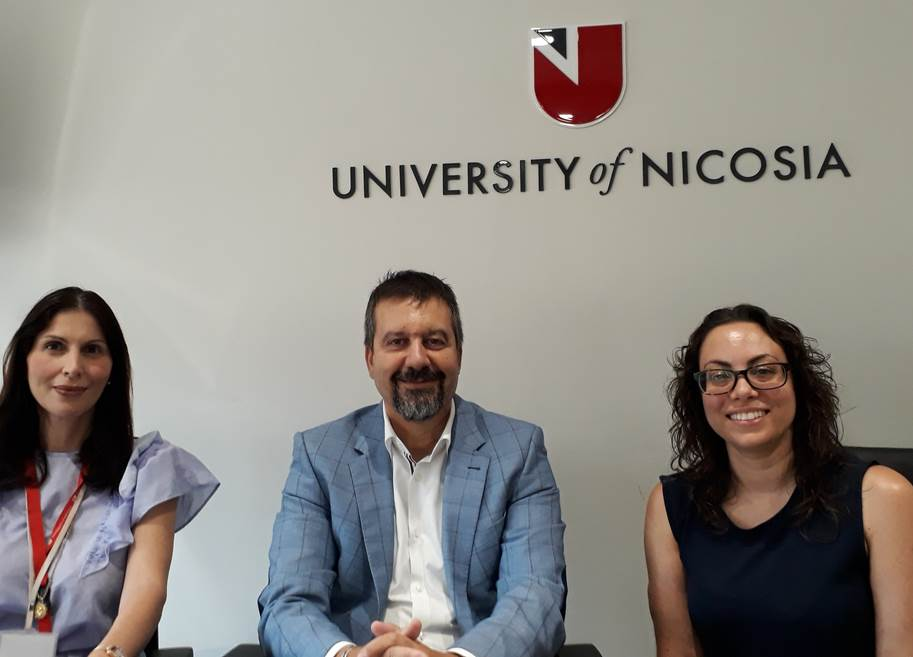 2019 10 10 University Of Nicosia Visit By GN