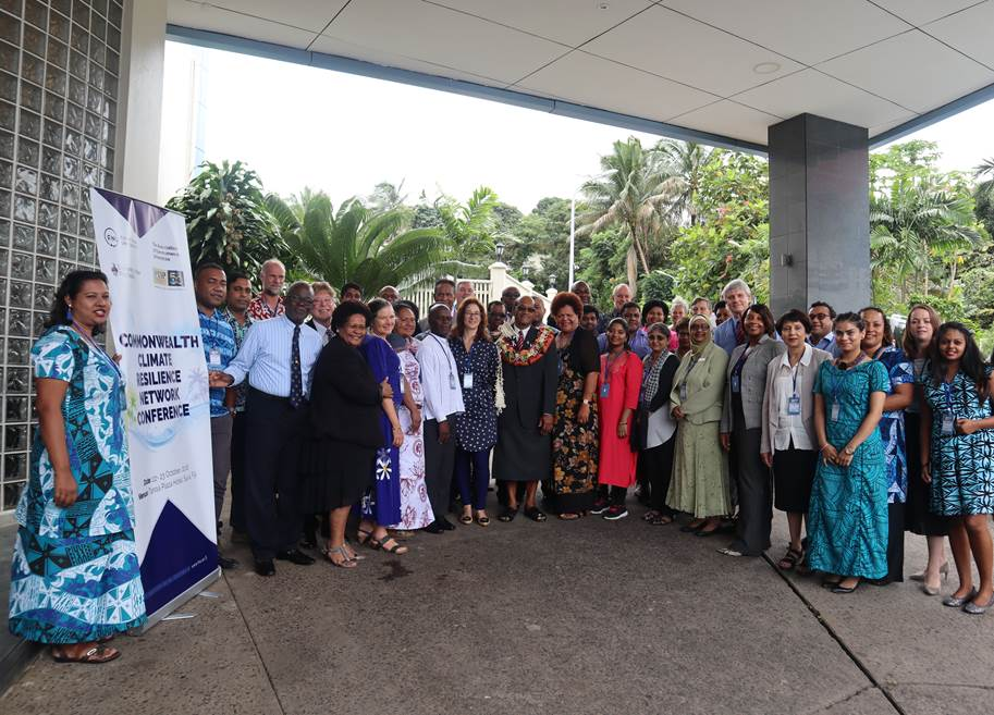 Climate Resilience Network group photo