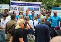 HRH The Duke Of Sussex At USP Climate