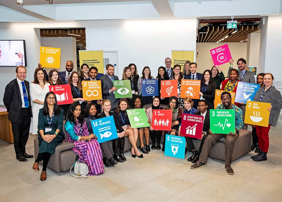 ACU staff SDG group photo