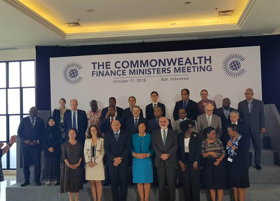Commonwealth Finance Ministers Meeting 2018 Bali