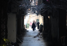 Everyday Life In The Alleyways Of Baddawi Camp, (C) E. Fiddian Qasmiyeh