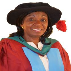 Headshot of Professor Teresa Mwuese Nmadu