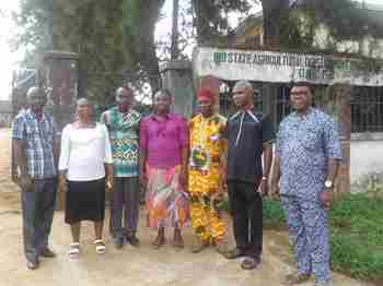 Doris Akachukwu with stakeholders in Imo State