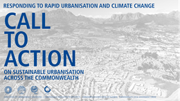 Call To Action For Sustainable Urbanisation Banner
